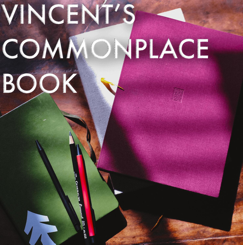 Vincent's Commonplace Book Feature Image